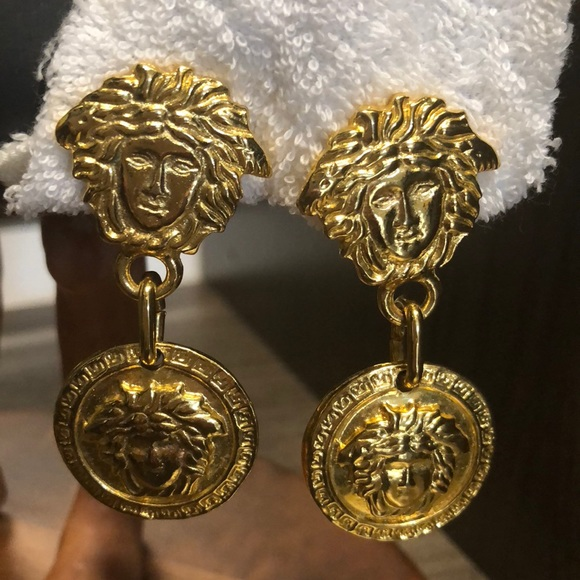 b2ac591a25f8 Gianni Versace Jewelry - GIANNI VERSACE authentic vintage Earrings